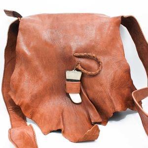 Handbags - Sold out Handmade Cross Body Leather Bag HM 055